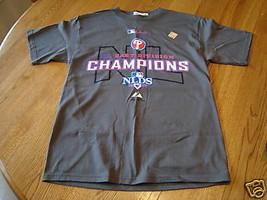 Boys Majestic Baseball T-shirt Medium east division NWT T shirt TEE - $13.85