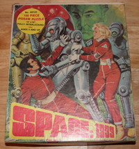 "VINTAGE 1970's SPACE 1999 JIGSAW PUZZLE 14"" X 10"" SCI-FI TV 497-03 COMPL... - $29.69"