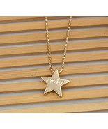 New Alloy Lucky Star Pendant Long Necklace - $7.39