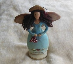 Russ Berry Country Gatherings 'True Friends' Figurine Hand Painted #21437 - $25.24