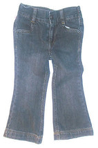 Cherokee Toddler Girls Jeans Stretch Waist Dark Blue Size 2T NWT - $9.09