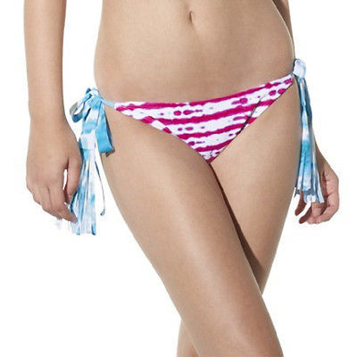 Primary image for Xhilaration Womens Junior Size Side Tie Bikini Swim Bottoms Size Small NWT