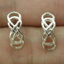 Revenge Double Infinity Stud Earring - New - $40.00
