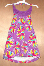 Circo Infant Girls Halter High Low Dress Multicolored Floral Size 6 Months NWT - $8.19