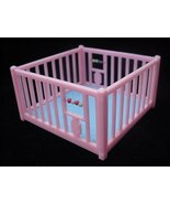 Old Renwal Baby Playpen Toy Dollhouse Furniture Doll - $12.50