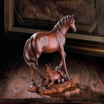 Majesty Mother & Foal Horse Statue - $24.99