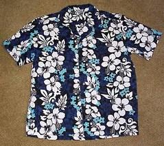 Vintage Men's Hawaiian Shirt by Palmwave Size Small - $9.99