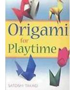 ORIGAMI PLAYTIME SET 15 Ready to Fold ANIMALS F... - $5.99