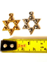 STAR OF DAVID FINE PEWTER PENDANT CHARM image 2