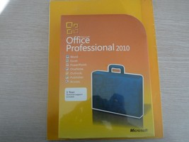 Microsoft Office 2010 Professional Sealed Package 32-64BIT New DVD Full ... - $121.54