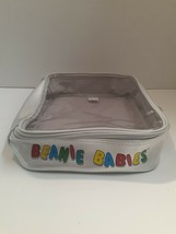 TY BEANIE BABIES Official Club Carry Case Bag Clear Top Zipper - $12.15