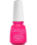 Gelaze Gel n Base in One Pink Voltage .33 oz 9.76 ml - $14.99