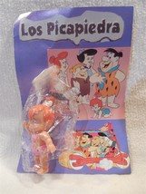 Flintstones Los Picapiedra Pebbles Flintstone Plastic Figure on Card fro... - $11.95
