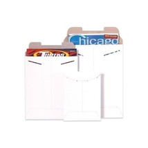 """Flat Mailers, 11"""" x 13-1/2"""", White, 100/Case"" - $70.39"