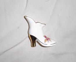 Vintage Mini Decorative Boot Bone China  made in Japan - $19.99