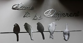 Dare to be different Silver Small Birds on a wi... - $29.99