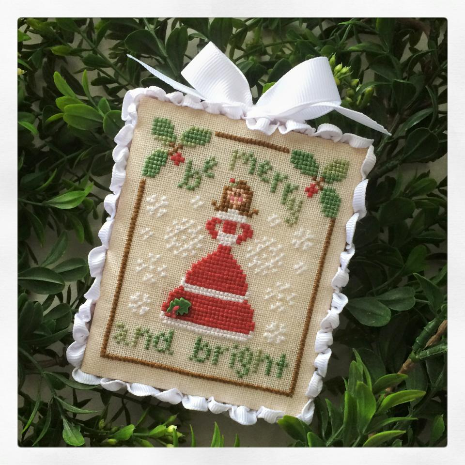 clearance be merry 12 final classic ornament cross stitch