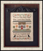 CLEARANCE Let Us Rejoice cross stitch chart Country Cottage Needleworks - $4.00