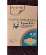 PatchMD Garcinia Cambogia Plus Patch 30-patches Patch-MD GC - $15.00
