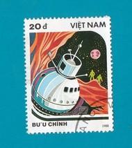 Viet Nam  (used postage stamp) Spacecraft 1988 - $1.99