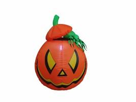 Halloween Inflatable Pumpkin Jack-O-Lanterns with Spider Garden Yard Dec... - $45.00