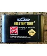 World Trophy Soccer - Cartridge Only - Sega Genesis! - $3.99