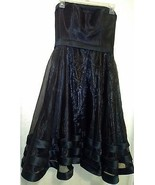 NWT- LIGHT IN THE BOX WOMEN'S BLACK FIT & FLARE SPECIAL OCCASION DRESS S... - $24.31