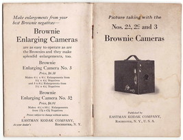 Kodak Brownie Camera No.2A, 2c and 3 Instruction Book Dated 1923 Great S... - $29.00