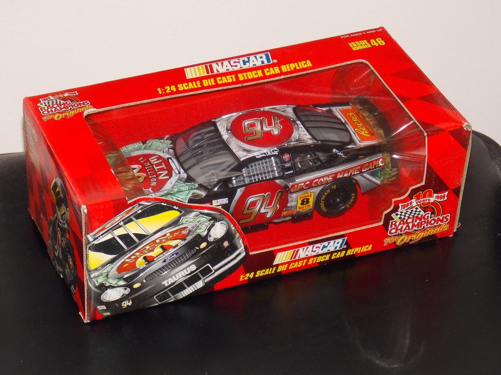Primary image for 1999 Racing Champions Nascar #94 Bill Elliott  1:24 Scale Diecast Car New In Box