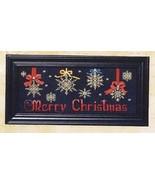 It's A Snowflake Christmas cross stitch chart Bobbie G Designs - $5.40