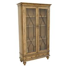 Brooks 2 Door Glass/Wood Cabinet,42'' x 75''H. - $1,137.51