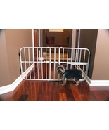 Carlson Mini Tuffy Expandable Gate with Small Pet Door 0618 - $62.99