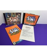 Sims (2000) + Superstar Expansion Pack (PC, 2003) Windows CD-ROM Lot of 2 - $12.86