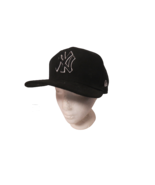 New Era 59Fifty MLB New York Yankees Fitted Hat Size 7 3/8 58.7 Cm Black... - $24.75