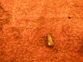 Cilindro Barile Brocca Tappo Scarico 1985 85 Husqvarna Husky 500 Cr XC 5... - $8.38