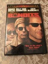 BANDITS Bruce Willis Cate Blanchett Dvd  - $5.00