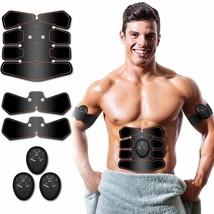 Best Abs Stimulator Muscle Toner Abs Stimulating Belt Abdominal Toner Tr... - $64.34