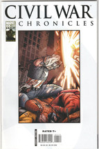 Civil War Chronicles #11 NM- 2008 Marvel Comics Spider-Man Captain America - $4.99