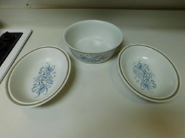 Royal Doulton Lambethware Inspiration 1 Round & 2 Oval Serving Bowls  - $108.89