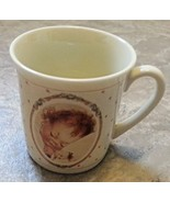 A Little Bit of Heaven mug cup coffee tea baby child 4 oz 1988 Lucie Att... - $22.76