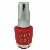 OPI Infinite Shine 2 Unequivocally Crimson IK L09 Red New Bottle 54 - $8.90