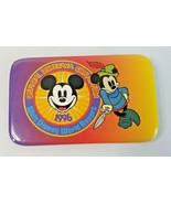 1996 Walt Disney World Official Disneyana Convention Rectangular Pinback... - $5.30