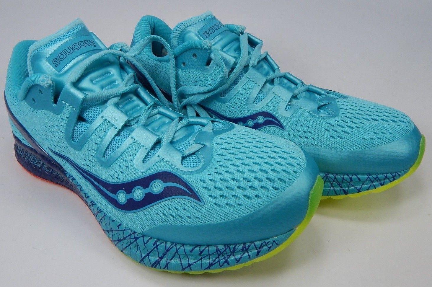 Saucony Freedom ISO Sz US 7.5 M (B) EU 38.5 Women's Running Shoes Blue S10355-3