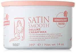 Satin Smooth Deluxe Cream Pot Wax, 14 Ounce