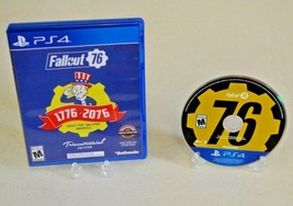Fallout 76 Tricentennial Edition (Playstation 4, 2018) TESTED PS4 - $32.91