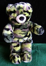 """Retired BABW~Camouflage Green~17"""" Plush~Build~A~Bear~Workshop~Military - $14.01"""