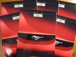 1994 Ford Mustang Dealer Sales Brochure LOT (6) pcs, GT, Convertible, MINT - $23.71