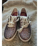 Keds For Kate Spade Champion Glitter Multi Girls Size 1.5 Youth Shoes Sneakers - $39.60