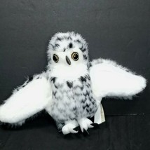 Folkmanis Folk Tails Snowy Snow Spotted Owl Hand Puppet Plush Realistic ... - $19.79