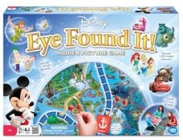 World Of Disney Eye Found It Board Game Kids Family Entertainment Learning - $44.09
